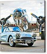 1959 Chevrolet Corvette Acrylic Print