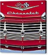 1959 Chevrolet Grille Ornament Acrylic Print