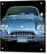 1959 Corvette Front View Acrylic Print