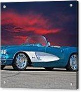 1959 Corvette Fuel Injected Acrylic Print