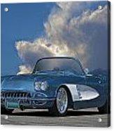 1959 Corvette Roadster 1 Acrylic Print