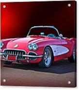 1959 Corvette Roadster 2 Acrylic Print