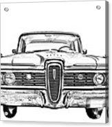 1959 Edsel Ford Ranger Illustration Acrylic Print