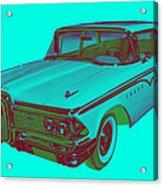 1959 Edsel Ford Ranger Modern Popart Acrylic Print
