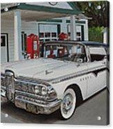 1959 Edsel Ranger Acrylic Print by Paul Kuras
