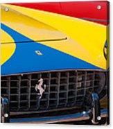 1959 Ferrari 250 Gt Coupe Grille Emblems Acrylic Print