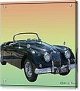 1959 Jaguar 150 S S Drop Head Coupe Acrylic Print