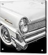 1959 Lincoln Continental Chrome Acrylic Print