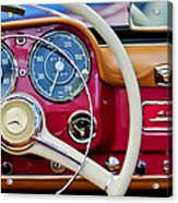 1959 Mercedes-benz 190 Sl Steering Wheel Acrylic Print