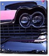 1959 Pink Plymouth Fury With Balloon Acrylic Print