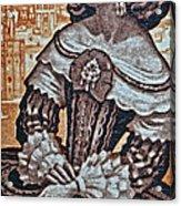 1959 Spanish Sahara Stamp Acrylic Print
