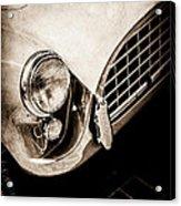 1960 Ac Aceca Grille Emblem -0058s Acrylic Print