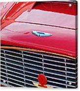 1960 Aston Martin Db4 Grille Emblem Acrylic Print
