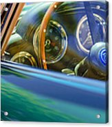 1960 Aston Martin Db4 Series II Steering Wheel Acrylic Print