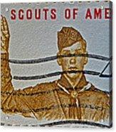 1960 Boy Scouts Stamp Acrylic Print