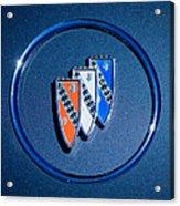 1960 Buick Lesabre Series 4400 Convertible Emblem Acrylic Print