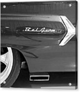 1960 Chevrolet Bel Air 3bw 012315 Acrylic Print