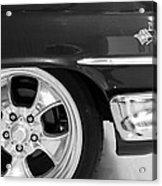 1960 Chevrolet Bel Air Bw2 012315 Acrylic Print