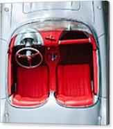 1960 Chevrolet Corvette Interior Acrylic Print by Jill Reger