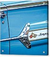 1960 Chevrolet Impala Emblem -340c Acrylic Print
