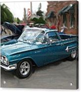 1960 Chevy El Camino Acrylic Print
