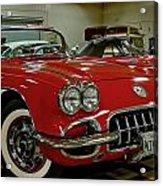 1960 Corvette Acrylic Print
