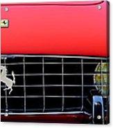1960 Ferrari 250 Gt Cabriolet Pininfarina Series II Grille Emblem Acrylic Print