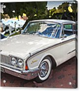 1960 Ford Starliner Acrylic Print
