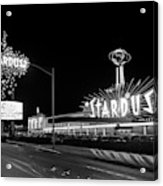1960s Night Scene Of The Stardust Acrylic Print
