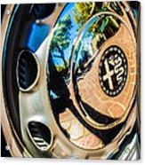 1961 Alfa Romeo Giulietta Sprint Speciale Wheel Emblem -0051c Acrylic Print