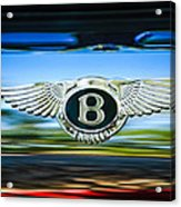 1961 Bentley S2 Continental - Flying Spur - Emblem Acrylic Print