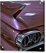 1961 Cadillac Coupe 62 Taillight Acrylic Print