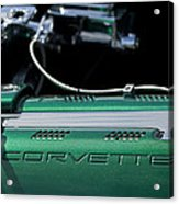 1961 Chevrolet Corvette Engine Acrylic Print