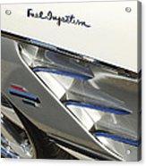 1961 Chevrolet Corvette Side Emblem 3 Acrylic Print
