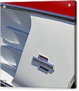 1961 Chevrolet Corvette Side Emblem Acrylic Print