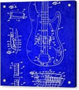 1961 Fender Guitar Acrylic Print