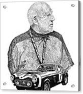 Sir Stirling Moss 1961 Ferrari G T 250 Acrylic Print