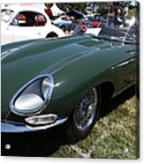 1961 Jaguar Xke Roadster 5d23323 Acrylic Print