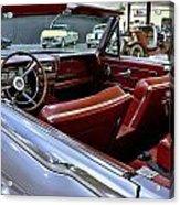 1961 Lincoln Continental Interior Acrylic Print