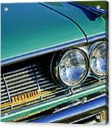 1961 Pontiac Bonneville Grille Emblem Acrylic Print