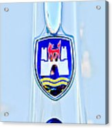 1961 Volkswagen Vw Emblem Acrylic Print