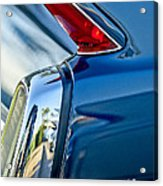 1962 Cadillac Deville Taillight Acrylic Print