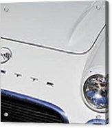 1962 Chevrolet Corvette Convertible Acrylic Print