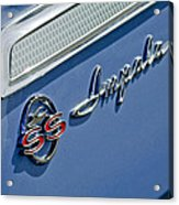1962 Chevrolet Impala Emblem Acrylic Print