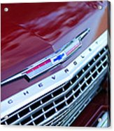 1962 Chevrolet Impala Ss Grille Acrylic Print