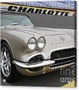 1962 Chevy Corvette Acrylic Print