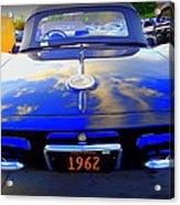 1962 Corvette Acrylic Print