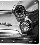 1962 Dodge Dart Taillight Emblem Acrylic Print