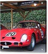 1962 Ferrari 250 Gto  Acrylic Print