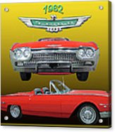 1962 Ford T-bird Sport Acrylic Print